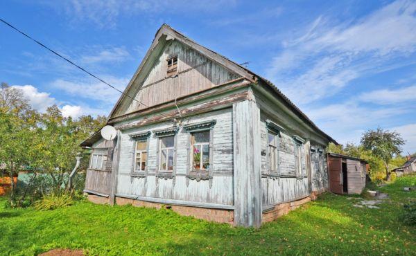 Жилой дом на участке 22 сотки в деревне Голубцово
